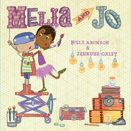 Cover of Melia and Jo by Billy Aronson & Jennifer Oxley