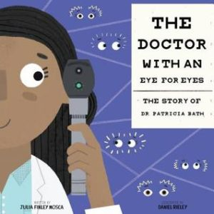The cover of The Doctor with an Eye for Eyes by Julia Finley Mosca
